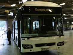 Volvo hibrid buszokat tesztel a BKV